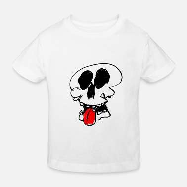 Tire La Langue Crâne tire la langue - T-shirt bio Enfant