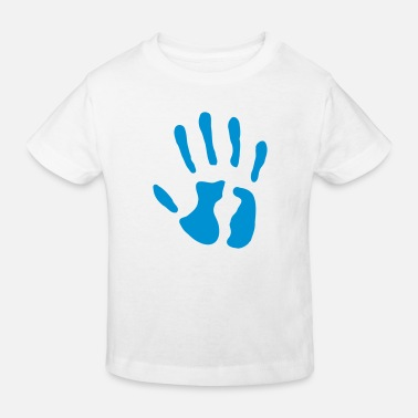 Date Of Birth Hand - date of birth - 5 years - Kids' Organic T-Shirt
