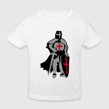templar knight by Patjila - Kids' Organic T-Shirt