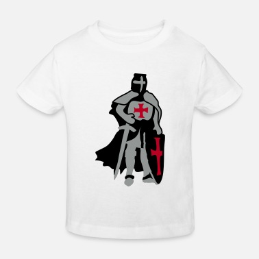 templar knight by Patjila - Kinder Bio-T-Shirt