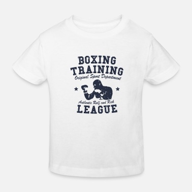 Boxing Training boxing training - Kids' Organic T-Shirt