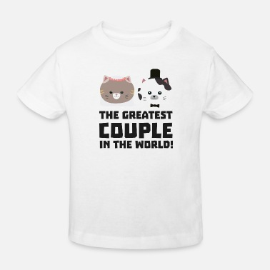 Nice Largest cat pair in the world Sd2n1 design - Kids' Organic T-Shirt
