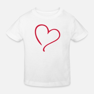 Tlc Heart Love - Kinder Bio T-Shirt