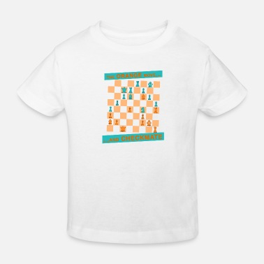 Canton The ORANGE move ... and CHECKMATE - Canton - Kids' Organic T-Shirt