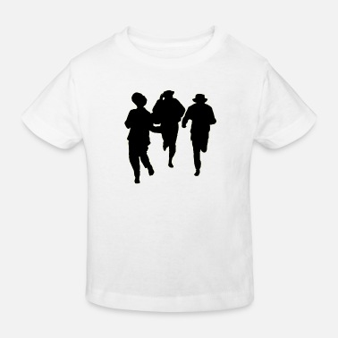 Male Dancer Dancers three male - Kids' Organic T-Shirt