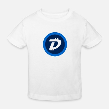 DigiByte Logo without text (DGB) - Kids' Organic T-Shirt
