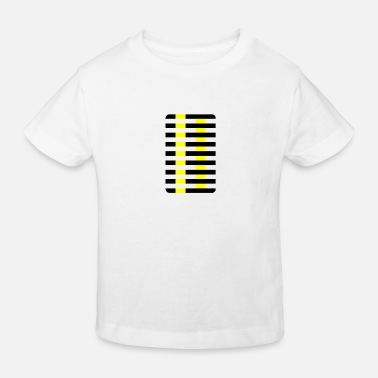 Optical illusion Munker-White - Kids' Organic T-Shirt