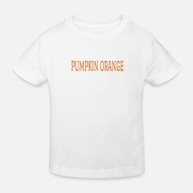 Digital Pumpkin orange - Kids' Organic T-Shirt