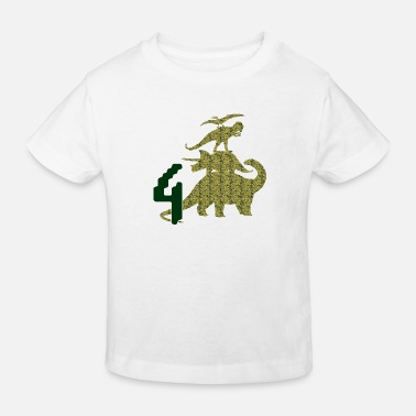 Dinototem 4 years - Kids' Organic T-Shirt