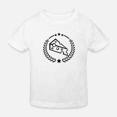 Mouse cheese_design_fe1 - Kids' Organic T-Shirt