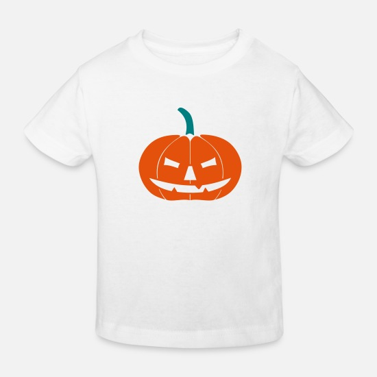 Chauvesouris Vêtements Bébé - Halloween Pumpkin II - T-shirt bio Enfant blanc