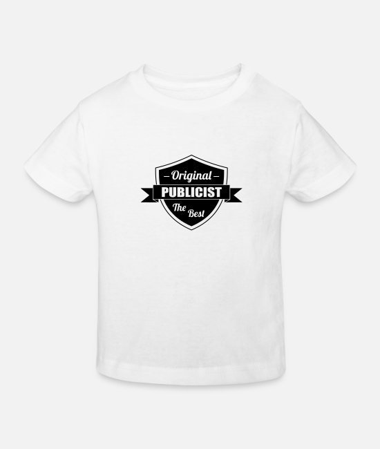 Product Baby Clothes - Werbung Publicist Advertising Publicitaire Pub - Kids' Organic T-Shirt white