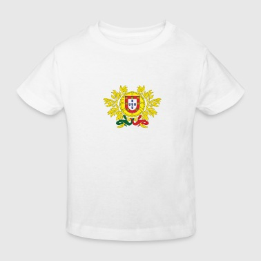 Armoiries nationales du Portugal - T-shirt bio Enfant