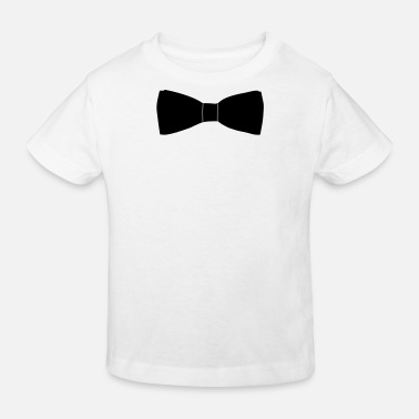 Long Bow Bow Tie - Kids' Organic T-Shirt