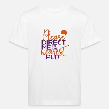 4e55bfaf3 Directo Por favor directo - Camiseta orgánica niño