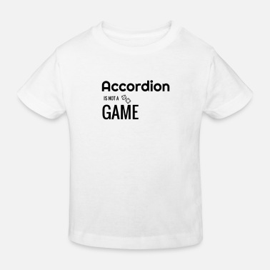 Instrument accordeon accordeonist muziek musicus instrument - Kinderen bio T-shirt