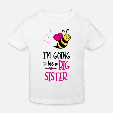 Announcement I'm Going To Bee A Big - Kids' Organic T-Shirt