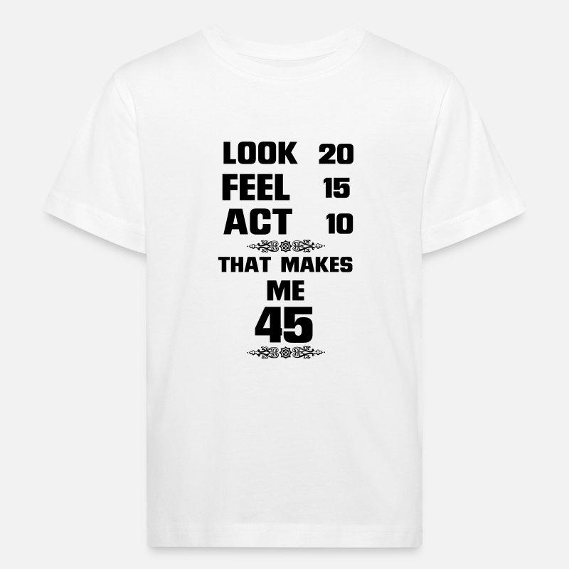 be146f12c0347 J AI PU VOIR 45 ANS UTILISÉS, SI BONS ! T-shirt bio Enfant   Spreadshirt