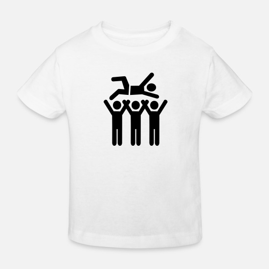 Guitar Baby Clothes - Stagediving - Kids' Organic T-Shirt white