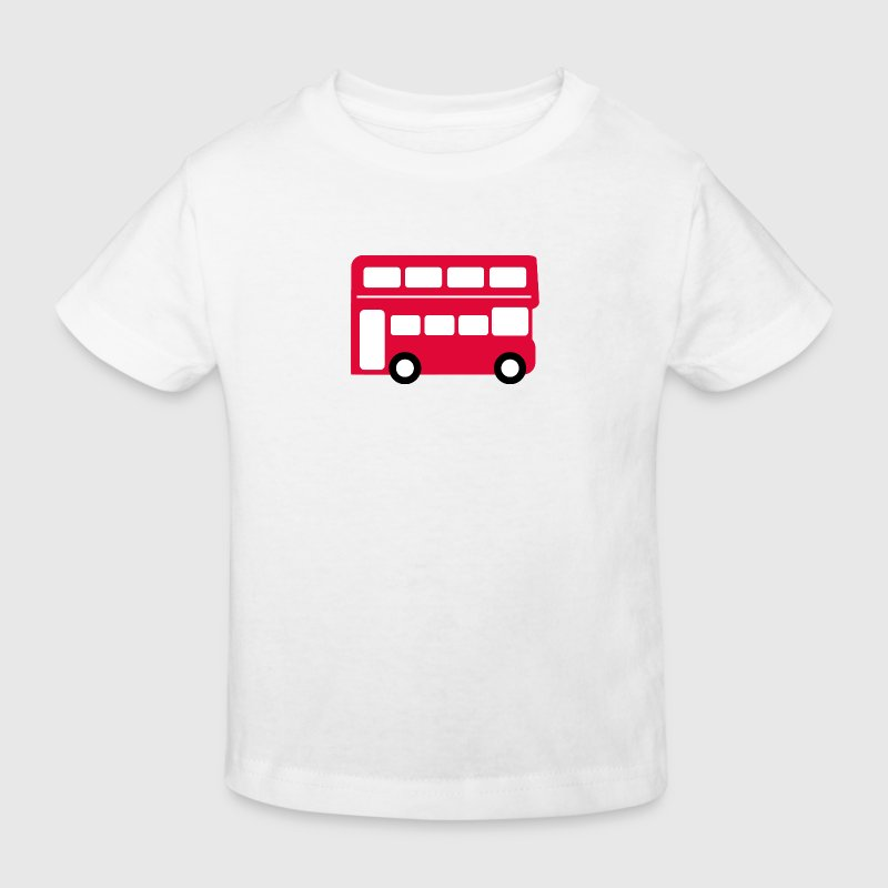 Big red bus - Kids' Organic T-shirt