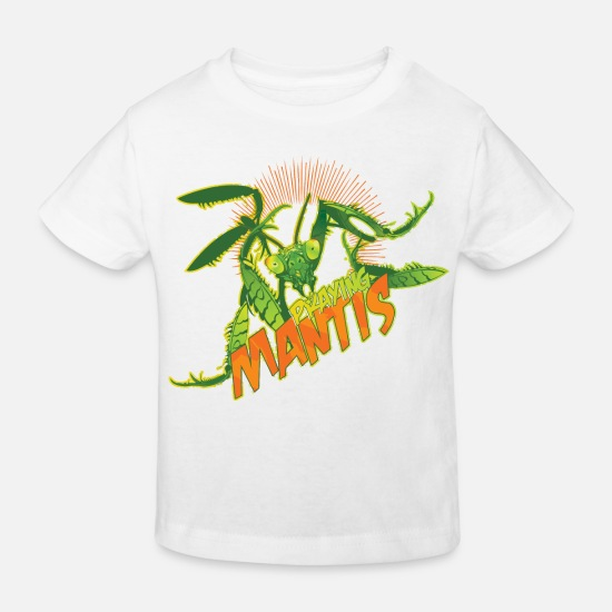 Animal Planet Baby Clothes - Animal Planet Mantis - Kids' Organic T-Shirt white