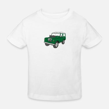 Land Rover Defender Landy Land Rover Defender Series Jeep - Kids' Organic T-Shirt
