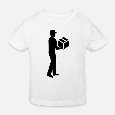 Delivery Delivery guy - Kids' Organic T-Shirt