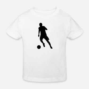 Dribble Striker at the dribble - Kids' Organic T-Shirt