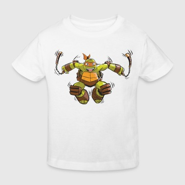 TMNT Turtles Michelangelo Ready For Action - Kids' Organic T-Shirt