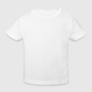 All Men Are Created Equal plain white shirt - Kinderen Bio-T-shirt