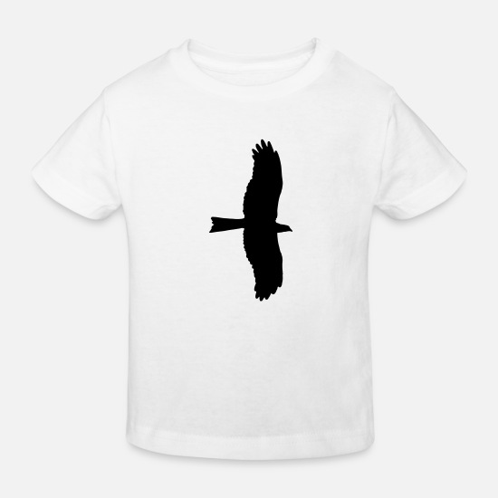 Eagle Head Baby Clothes - eagle, bird of prey - Kids' Organic T-Shirt white
