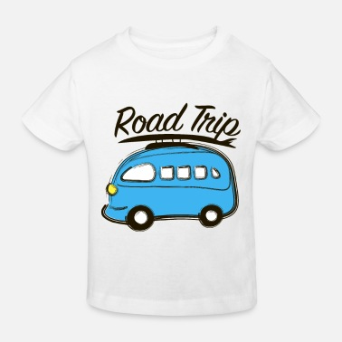 Road Road trip - Kids' Organic T-Shirt