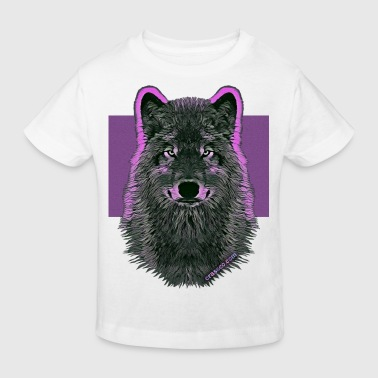 WOLF PINK IN LOVE - Kinder Bio-T-Shirt