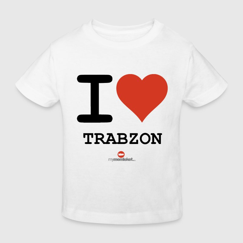 I love TRABZON - Kinder Bio-T-Shirt