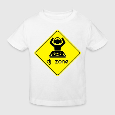 DJ Zone - Kids' Organic T-shirt