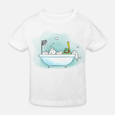 Poef in Bad! - Kinderen Bio-T-shirt