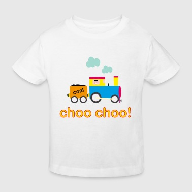 Choo Choo Train Baby Onesie - Kids' Organic T-shirt