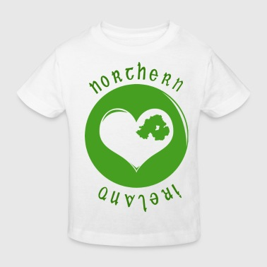 northern_ireland_heart - Kids' Organic T-shirt