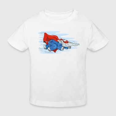 Heroes Sup-o-fant flying again! - Kinder Bio-T-Shirt