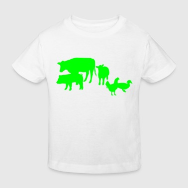Animal Farm - Kids' Organic T-shirt