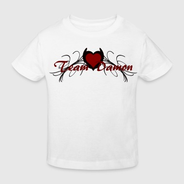team damon - Kids' Organic T-shirt