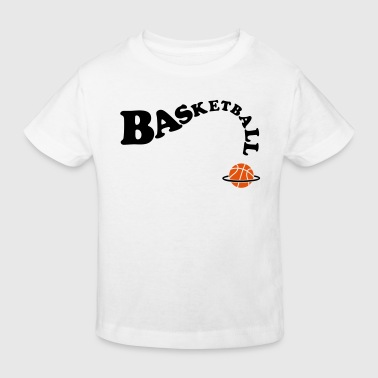 basketbal  basket - Kinderen Bio-T-shirt