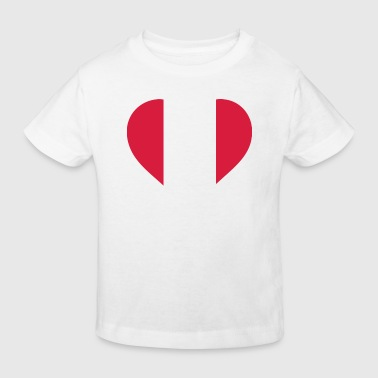 A Heart for Peru - Kids' Organic T-shirt