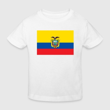 National Flag of Ecuador - Kids' Organic T-shirt