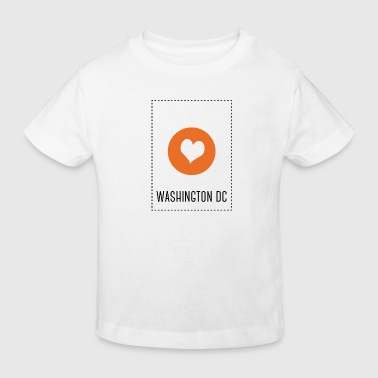 I Love Washington DC - T-shirt bio Enfant