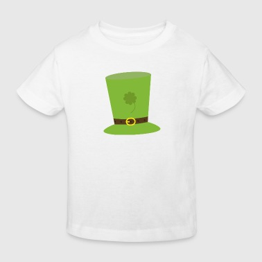 leprechaun hat - Økologisk T-skjorte for barn