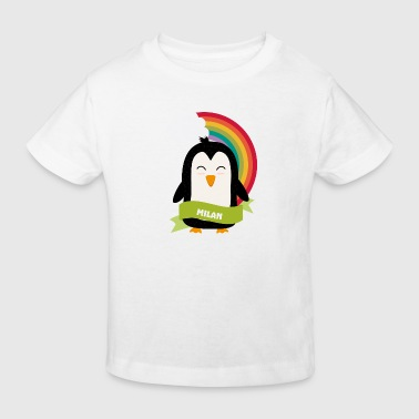 Penguin Rainbow from Milan Gift - Kinder Bio-T-Shirt