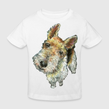 Wire haired fox terrier - Kids' Organic T-shirt