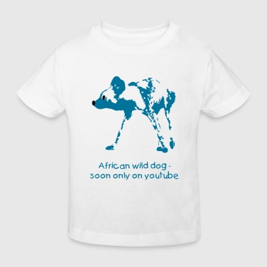African wild dog - Kids' Organic T-Shirt