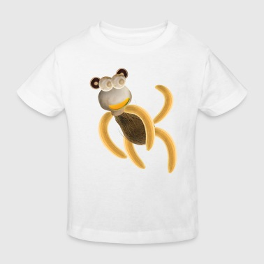 Banana's the monkey - Kids' Organic T-shirt